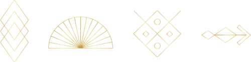 golden icon separator